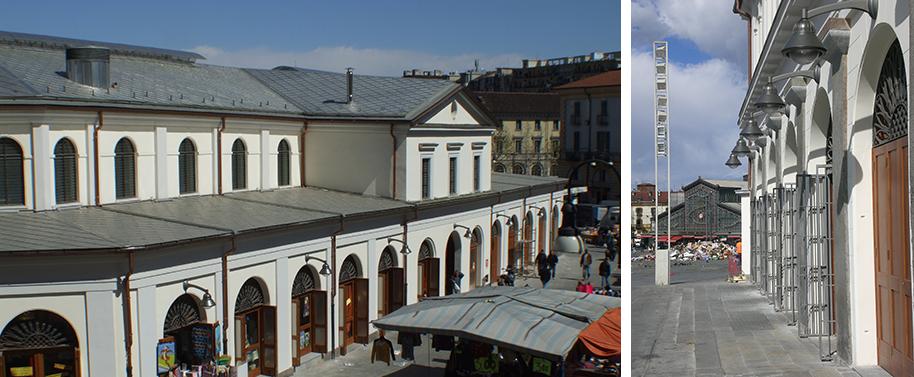 Torpego architetti - Mercato coperto porta palazzo orari ...